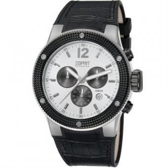Esprit EL101281F02 Anteros Silver Herrenuhr Chronograph