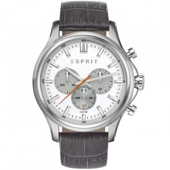 Esprit ES108251001 Mathias Grey Herrenuhr Chronograph