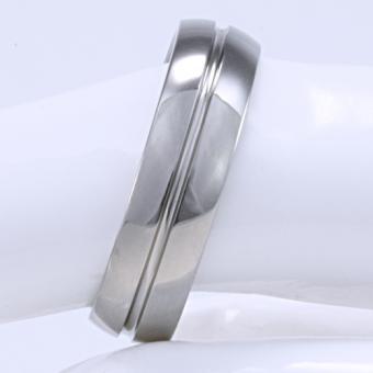 Handgefertigter Feniom Ring aus Titan Gr 16,5 - 22,5 -B006